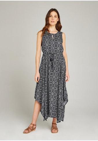 Apricot Maxikleid »Mosaic Tile Hanky Hem Maxi Dress«, mit Cut-Out am Ausschnitt kaufen
