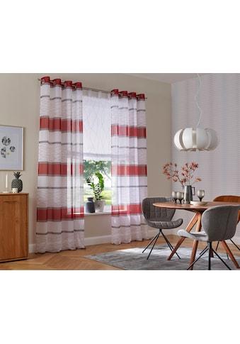 my home Raffrollo, mit Schlaufen kaufen