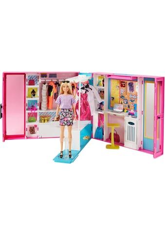 Barbie Puppenkleiderschrank »Fashionistas Traum Kleiderschrank«, inkl. Puppe kaufen
