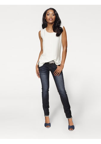 LINEA TESINI by Heine Skinny-fit-Jeans, im Used-Look kaufen