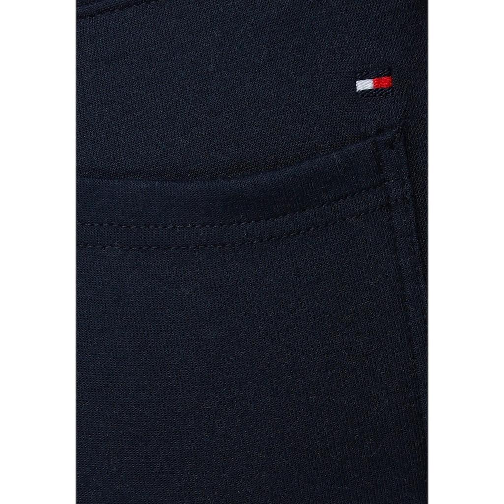 TOMMY HILFIGER Sweathose »HERITAGE SWEATPANTS«, mit den typisechen Tommy Streifen am Beinabschluss & Tommy Hilfiger Logo-Flag