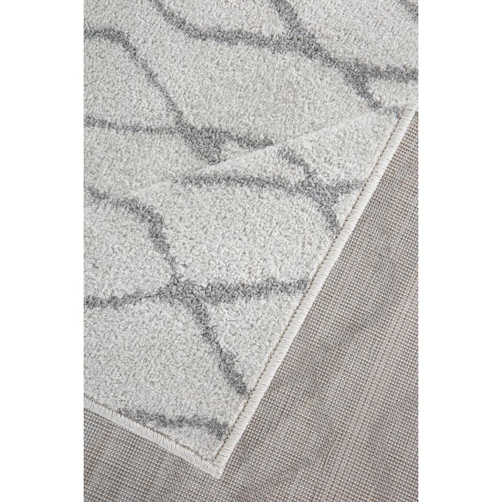 Andiamo Teppich »Bolonia 92«, rechteckig, 6 mm Höhe, Rauten Design, Wohnzimmer