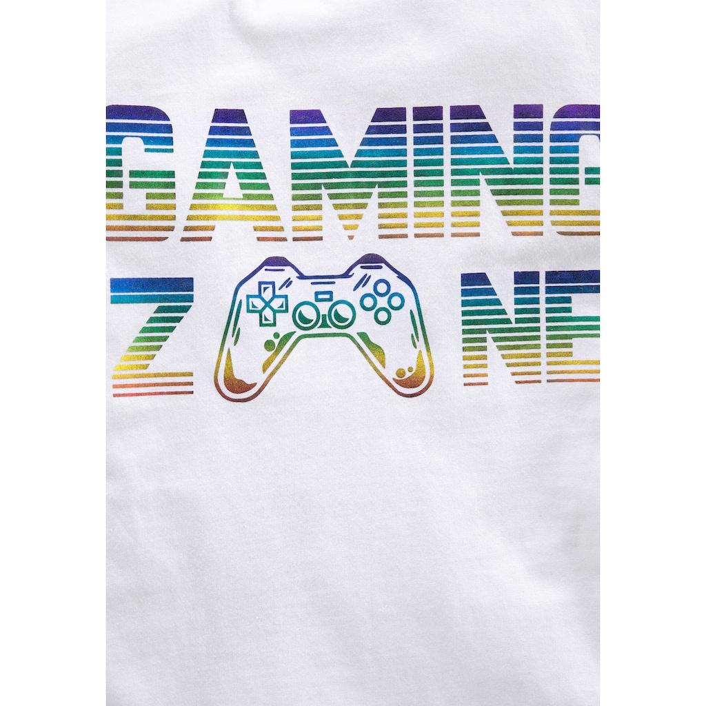 KIDSWORLD T-Shirt »GAMING ZONE«