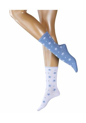 Esprit Socken »Dots & Stars 2-Pack«, (2 Paar), mit Glanzgarn kaufen