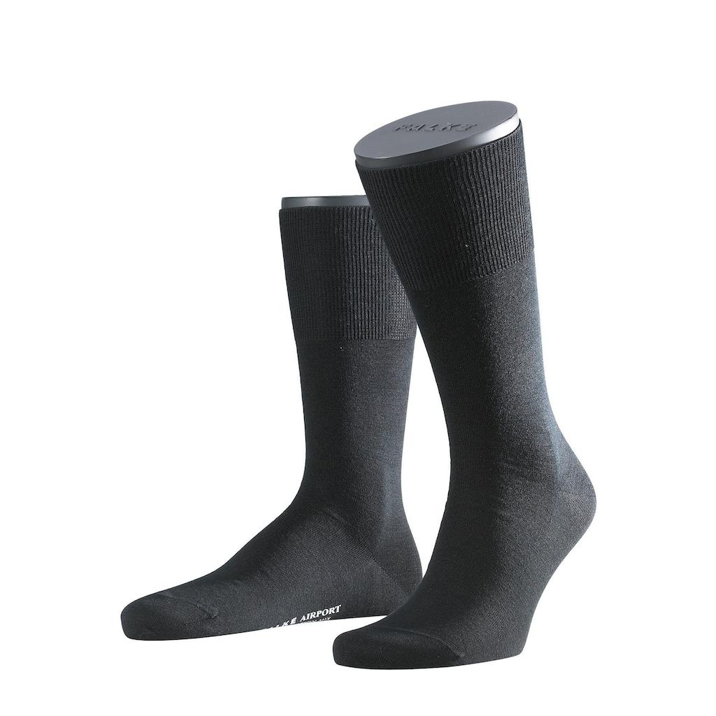 FALKE Socken »Airport«, (2 Paar), mit wärmender Schurwolle