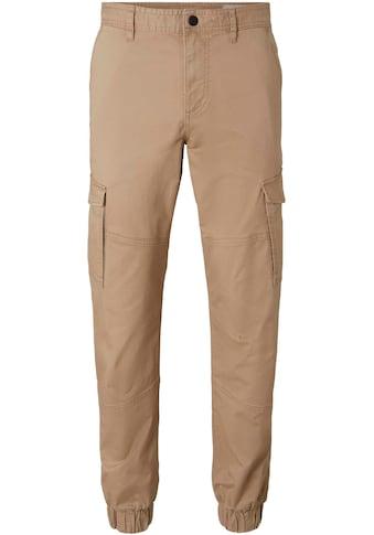 TOM TAILOR Denim Cargohose, mit Bündchen am Beinabschluss kaufen