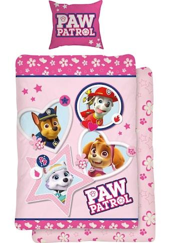 PAW PATROL Jugendbettwäsche »Girly Paws« kaufen