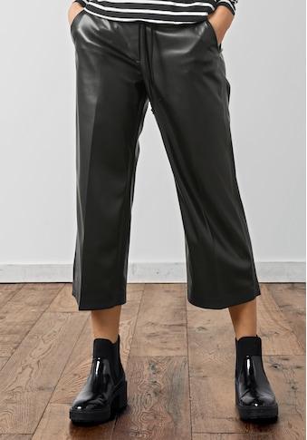 bianca Culotte »PARIGI«, in angesagter Fake-Lederoptik mit Eingrifftaschen kaufen