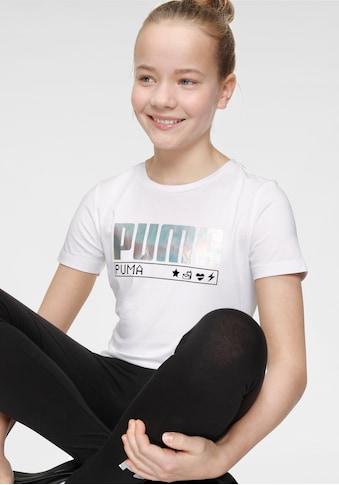 PUMA T - Shirt »ALPHA TEE GIRLS« kaufen