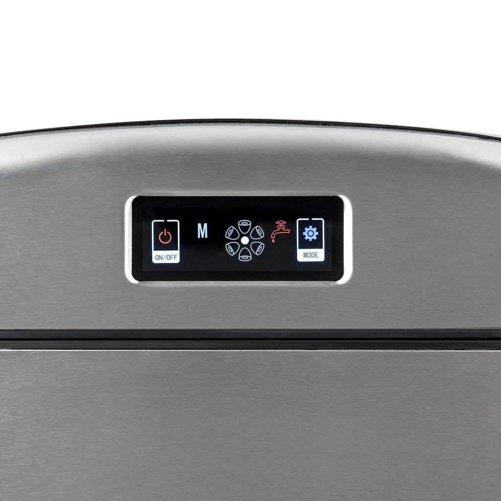 Klarstein Kompakte Eiswürfelmaschine 12kg/24h digitales Display »Metropolitan«