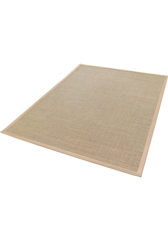 Dekowe Sisalteppich »Mara S2 mit Bordüre«, rechteckig, 5 mm Höhe, Flachgewebe, Obermaterial: 100% Sisal, Wohnzimmer kaufen
