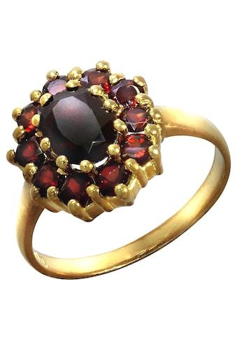 Vivance Ring »925/ -  Sterling Silber vergoldet Granat« kaufen