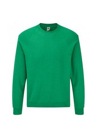 Fruit of the Loom Rundhalspullover »Erwachsene Unisex Klassik Raglan Sweatshirt« kaufen