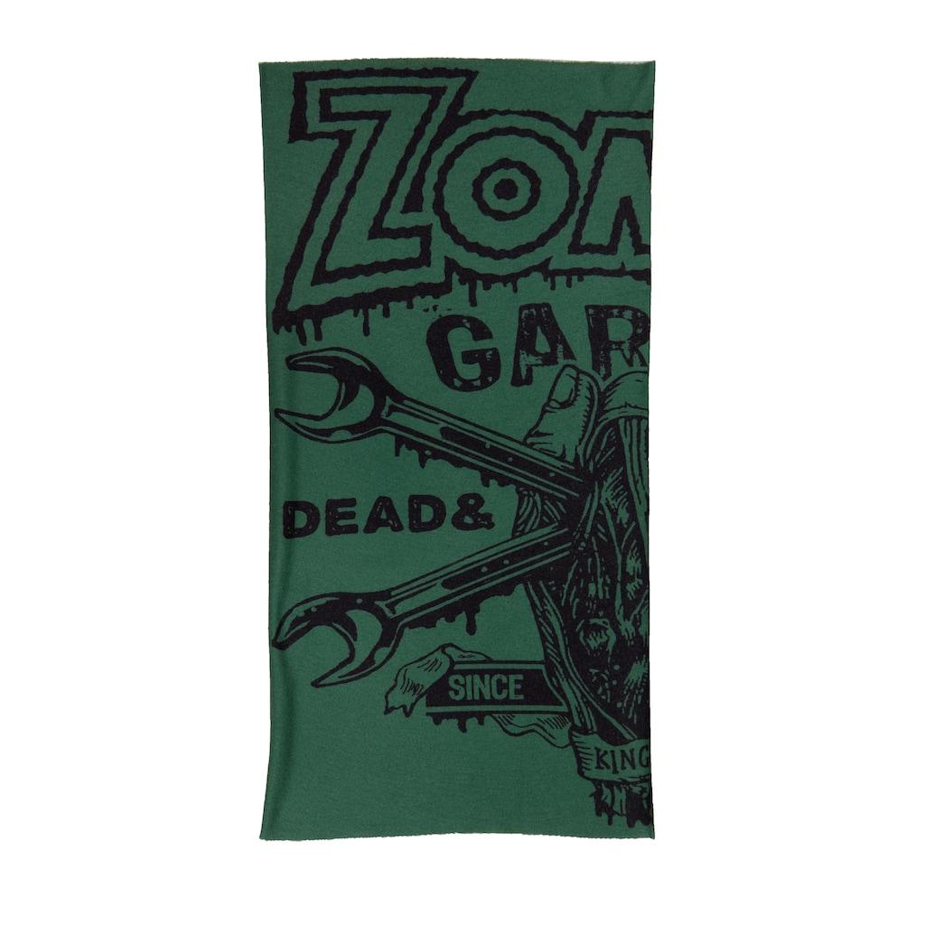 KingKerosin Multifunktionstuch »Zombie Garage«, mit Print aus Coolmax