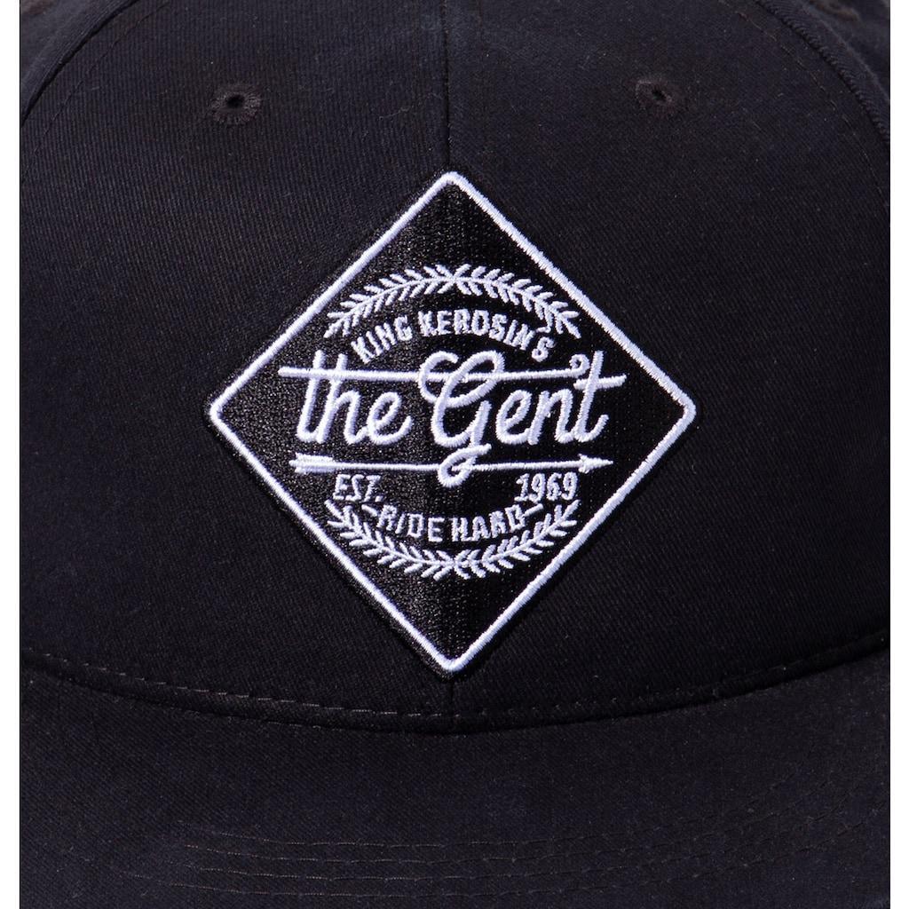 KingKerosin Baseball Cap »The Gent«, mit Front-Stickerei