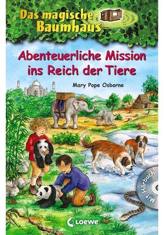 Buch »Das magische Baumhaus - Abenteuerliche Mission ins Reich der Tiere / Mary Pope Osborne, Jutta Knipping, Petra Theissen, Sandra Margineanu« kaufen