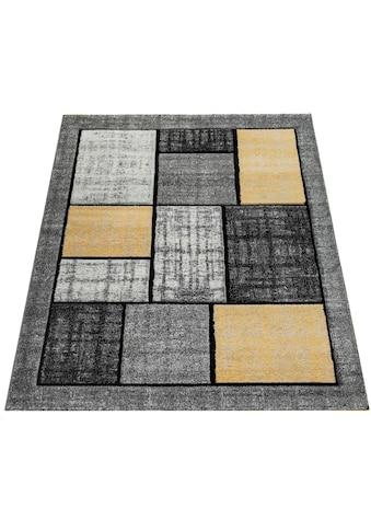 Paco Home Teppich »Pattern 125«, rechteckig, 18 mm Höhe, Kurzflor, Wohnzimmer kaufen