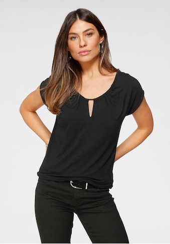 Tamaris T-Shirt, mit Kordelzug - NEUE KOLLEKTION kaufen