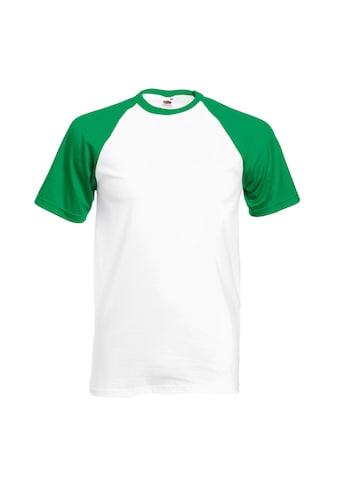 Fruit of the Loom T-Shirt »Herren Baseball, kurzärmlig« kaufen