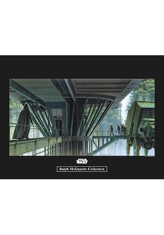 Komar Poster »Star Wars Classic RMQ Endor Dock«, Star Wars kaufen
