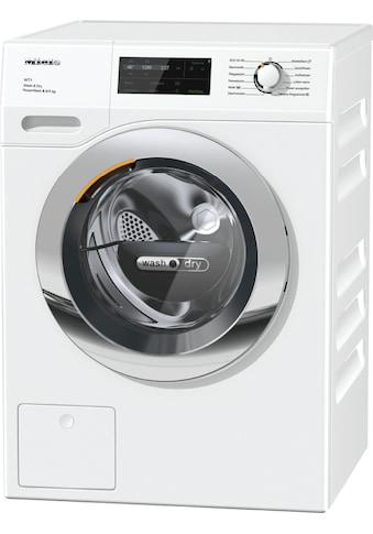 Waschtrockner, Miele, »WTI370 WPM PWash 8/5 kg WT1  Lotosweiß« kaufen