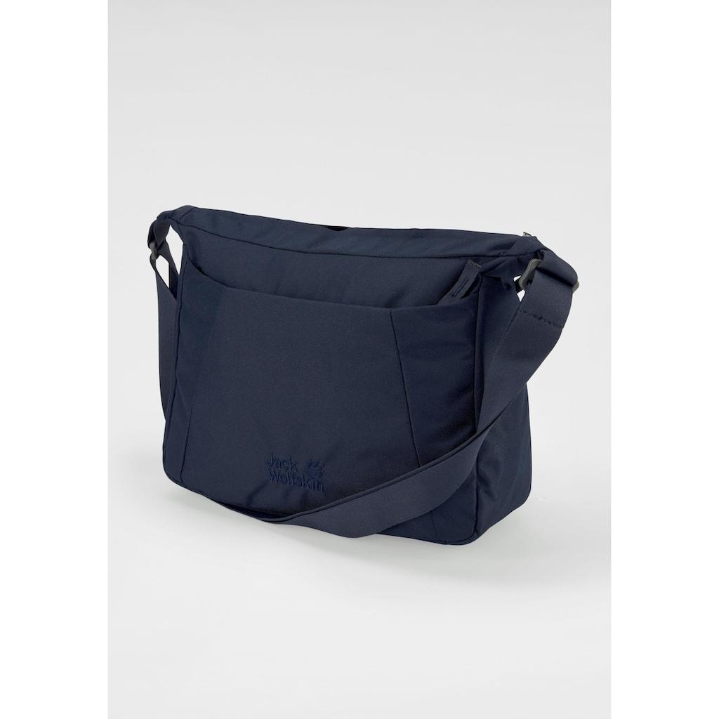 Jack Wolfskin Umhängetasche »VALPARAISO BAG«, praktische Tasche mit viel Platz