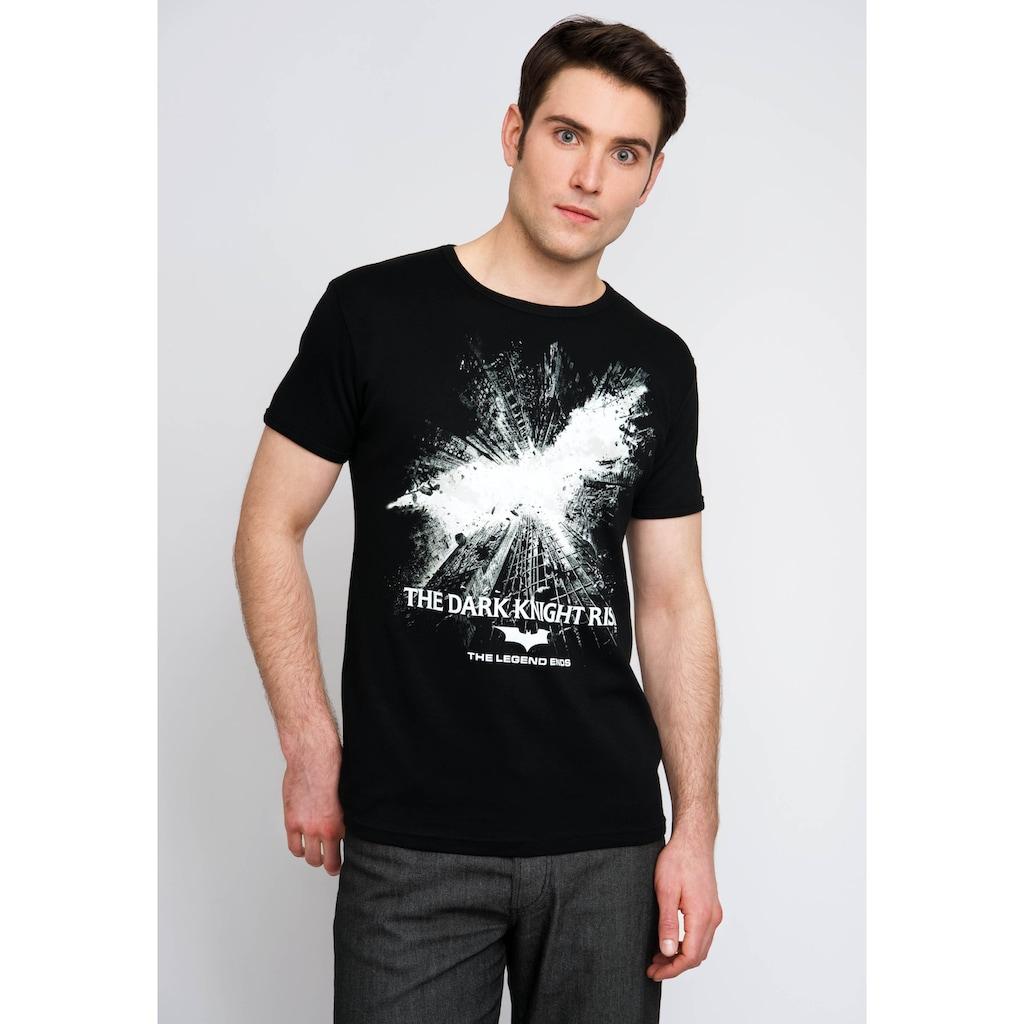 LOGOSHIRT T-Shirt mit tollem Batman-Logo