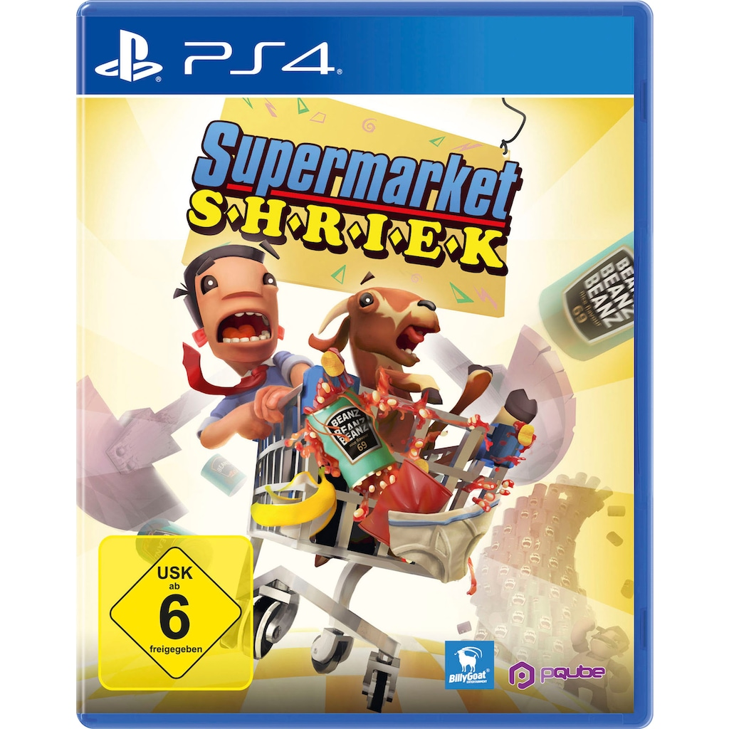 PQube Spiel »Supermarket Shriek«, PlayStation 4
