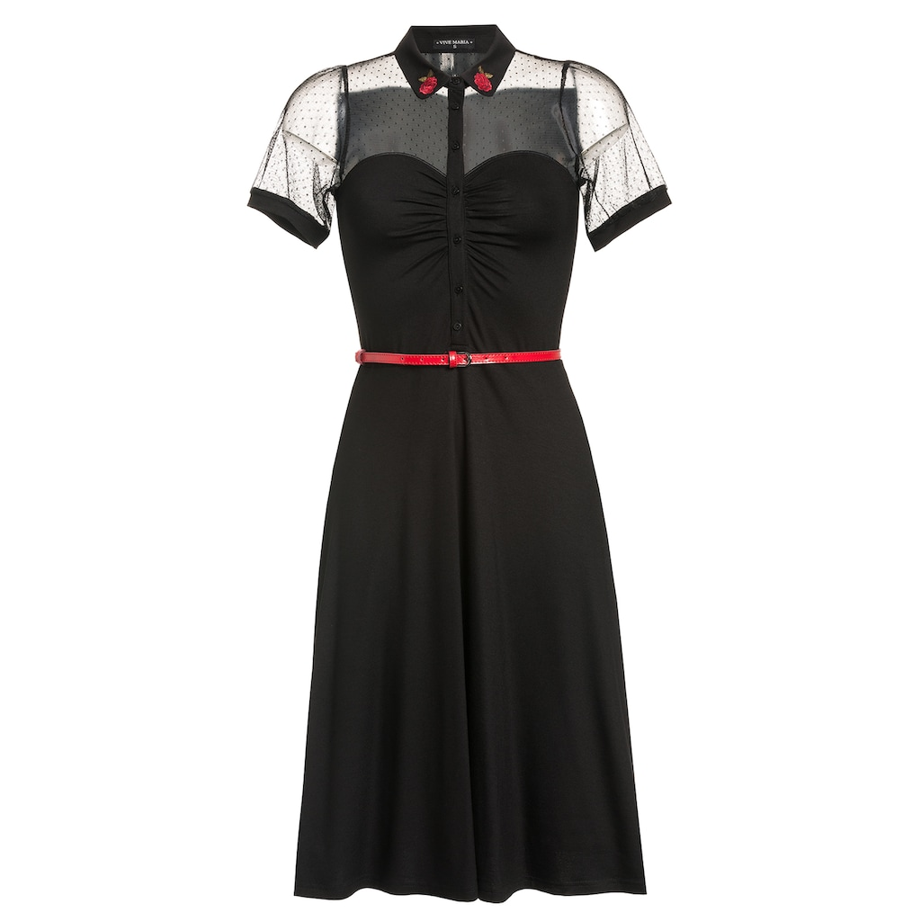 Vive Maria A-Linien-Kleid »British Black«