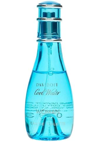 DAVIDOFF Eau de Toilette »Cool Water Woman« kaufen