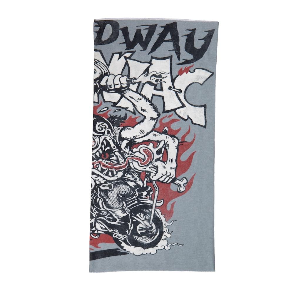 KingKerosin Multifunktionstuch »Seepdway«, aus Coolmax mit Monster-Print