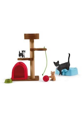 """Schleich® Spielfigur """"Farm World, Spielspaß für niedliche Katzen (42501)"""", (Set) kaufen"""