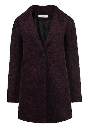 JACQUELINE de YONG Kurzmantel »Berta«, Mantel aus warmer Boucle-Qualität kaufen