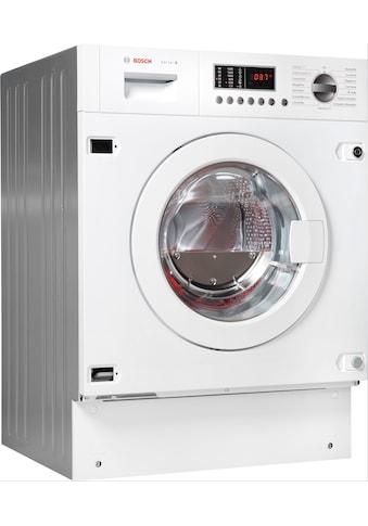 BOSCH Einbauwaschtrockner »WKD28542«, 6 kaufen