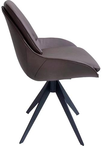 K+W Komfort & Wohnen Drehstuhl »Deseo«, Drehstuhl in Leder Cloud kaufen