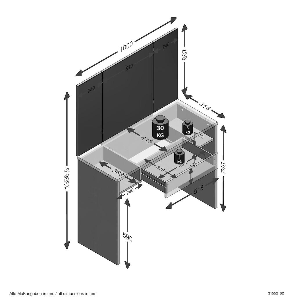 FMD Schreibtisch »Schminki«
