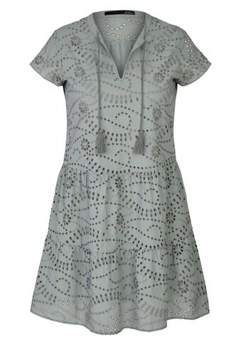 LeComte Sommerkleid, mit Loch-Muster und Bindebändern kaufen