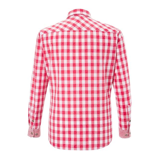 Andreas Gabalier Kollektion Trachtenhemd im Karodesign