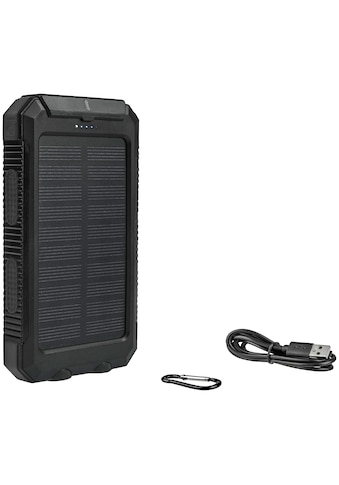 CALIMA Solar Powerbank, 10.000 mAh Ladekapazität, 2 Ladefunktion, ideal für... kaufen