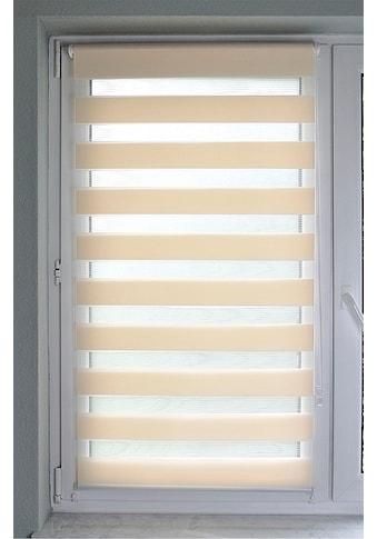 Kutti Doppelrollo »Sola«, Lichtschutz, ohne Bohren, freihängend, Lichtschutz kaufen