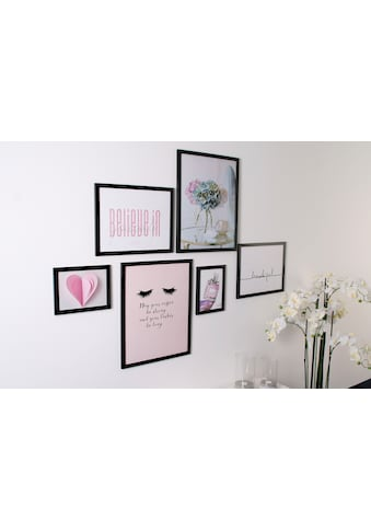 my home Bilderrahmen »6er Rahmenset«, (Set, 6 St.) kaufen