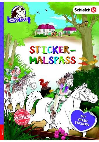 Buch Schleich Horse Club Sticker - Malspaß / DIVERSE kaufen