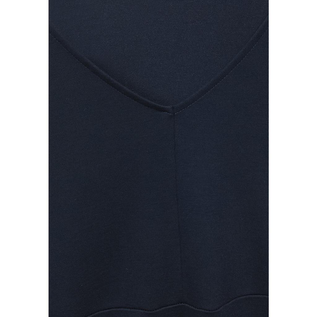 Cecil A-Linien-Kleid, in Unifarbe