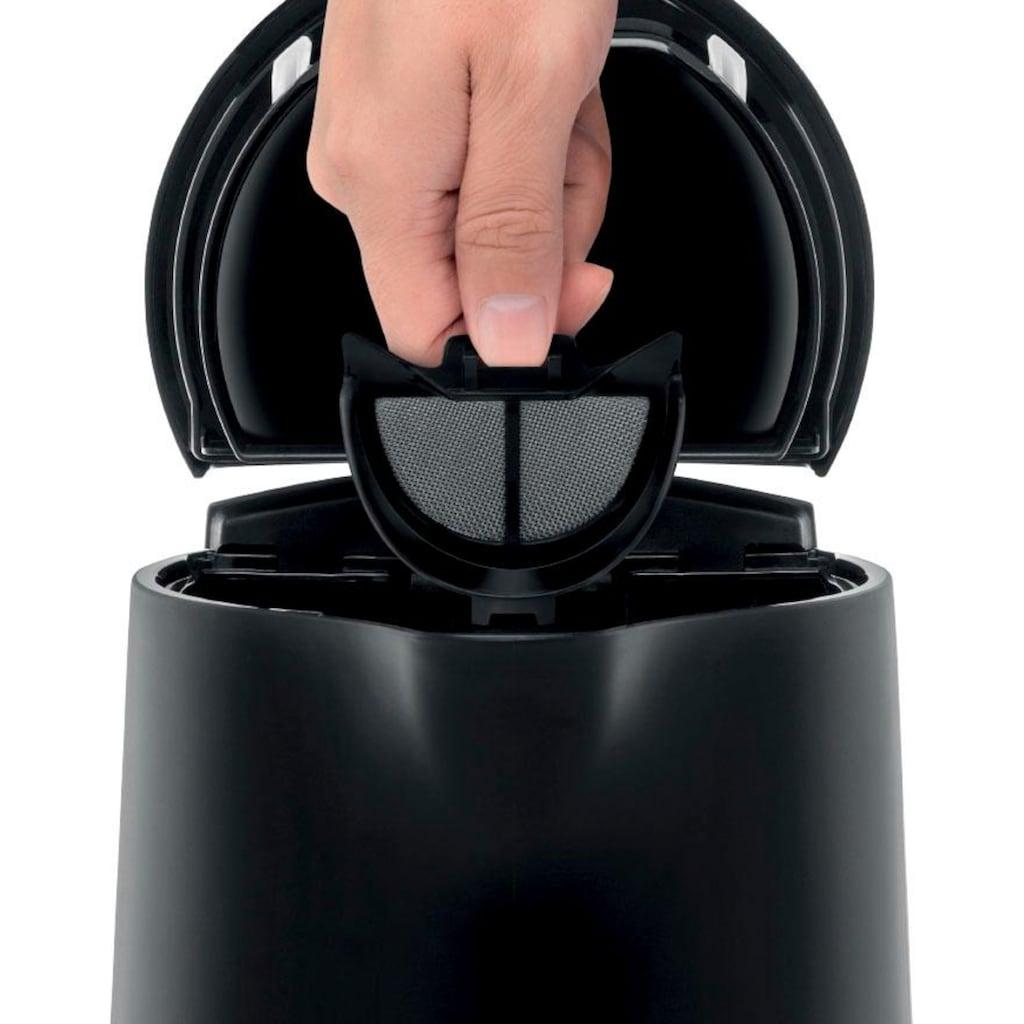 Tefal Wasserkocher »KO2008 Element Black«, 1,7 l, 2400 W