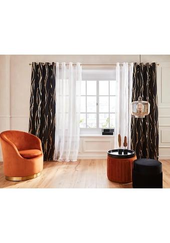 Guido Maria Kretschmer Home&Living Vorhang »Prag«, Foliendruck, democratichome Edition kaufen