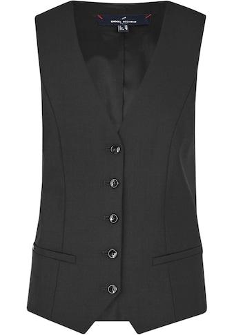 Daniel Hechter Anzugweste, mit Schurwolle kaufen