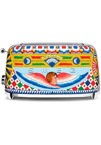 DOLCE & GABBANA Sicily is my Love Toaster »TSF02DGEU Smeg«, 1500 W kaufen