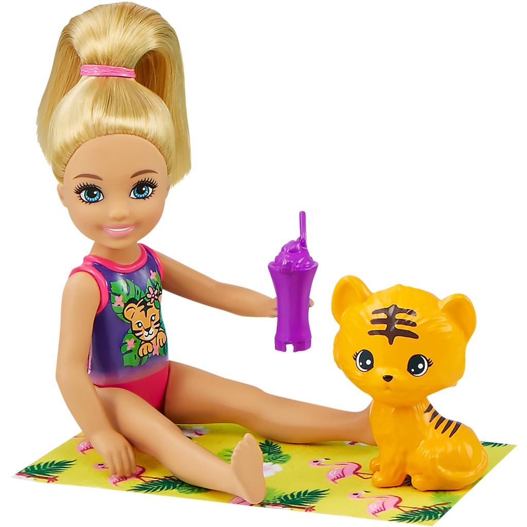 Barbie Spielwelt »Chelsea - Der verrückte Geburtstag - Dschungelparty-Spielset«