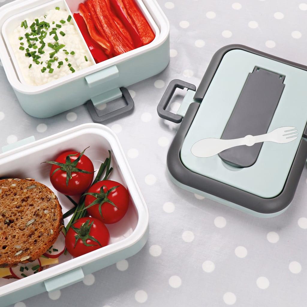 STONELINE Lunchbox, (5 tlg.), auslaufsicher,zum getrennten Aufbewahren von Speisen