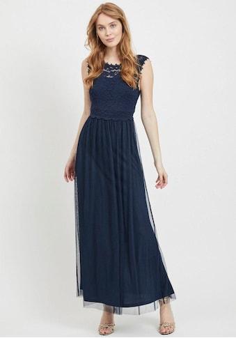 Vila Abendkleid »VILYNNEA«, mit Spitze und tiefem Rückenausschnitt kaufen